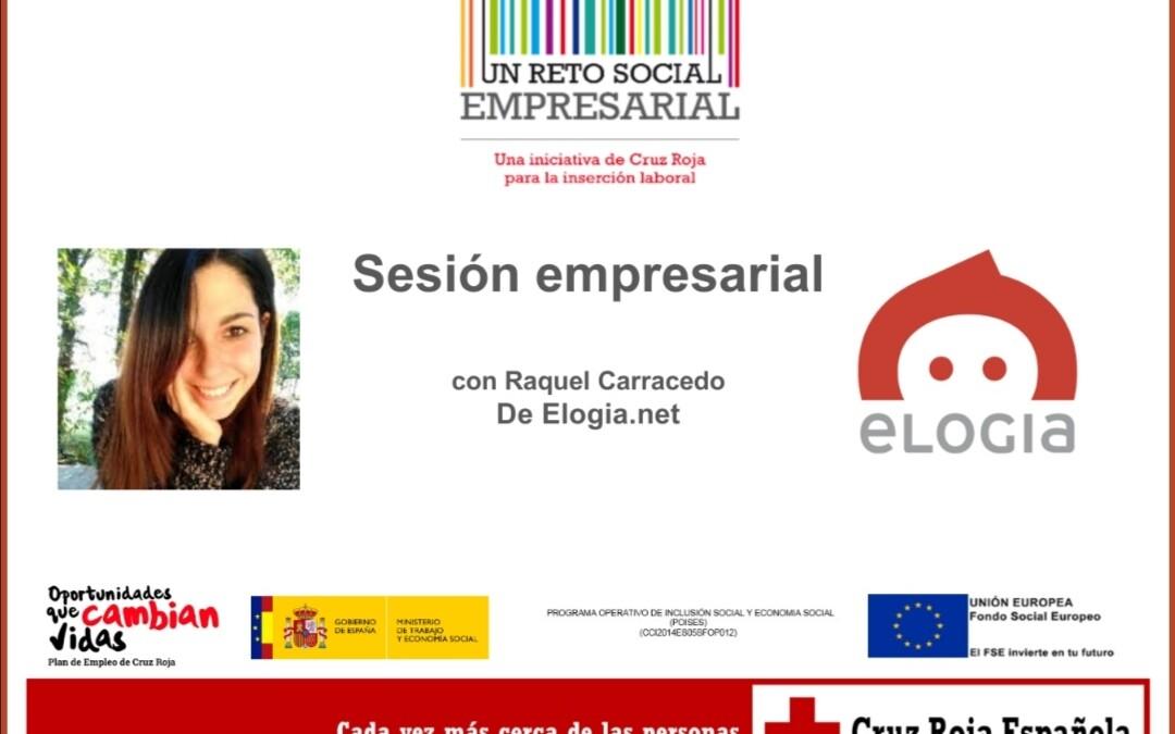Raquel Carracedo Porto Social Media Strategist de la empresa ELOGIA (Viko Group)